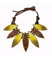 print Cocar necklace