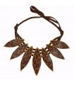 tiger Cocar necklace