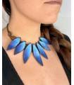 blue Cocar neklace