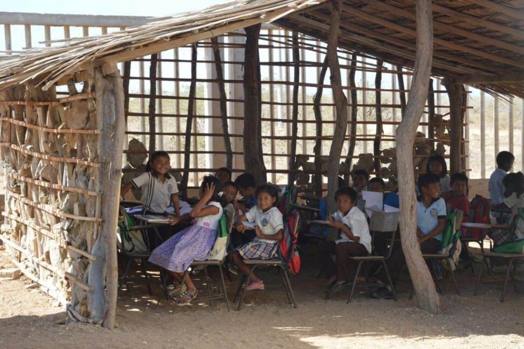 escuela la guajira colombia niños