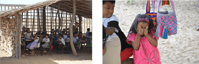 tribu wayuu niños de la guajira colombia