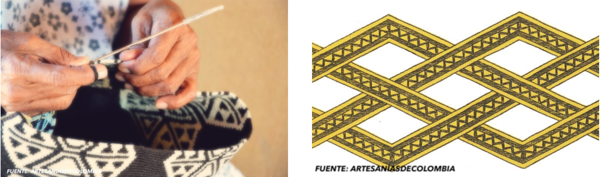 tejido crochet wayuu manos kanaas