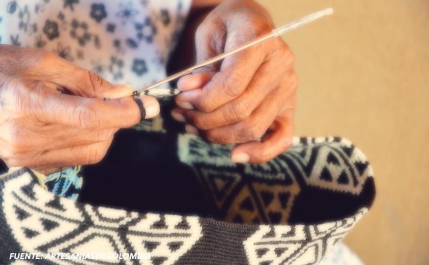 tejido crochet wayuu manos