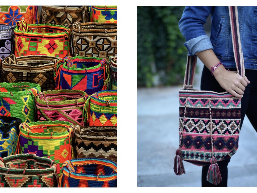 bolsos wayuu autenticos hechos a mano en la guajira
