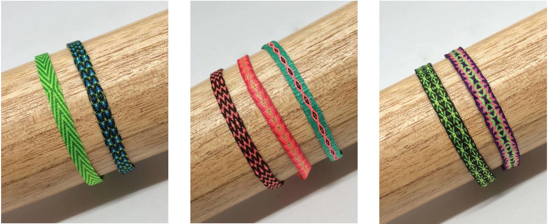 Conjuntos pulseras de telar egipcio disponibles online